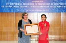 Người phụ nữ Mỹ tích cực hỗ trợ nạn nhân da cam Việt Nam