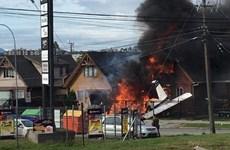 Chile: Máy bay hạng nhẹ đâm vào nhà dân làm 6 người thiệt mạng