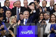 Đa số nghị sỹ ủng hộ Thủ tướng Netanyahu đứng ra thành lập chính phủ