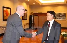 Tổng Giám đốc TTXVN chào mừng các đại biểu tới Hà Nội tham dự OANA