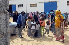 Liên hợp quốc bắt đầu sơ tán người tị nạn từ Libya sang Niger