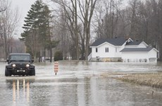 Lũ lụt trên diện rộng ở Canada, hơn 1.000 người phải sơ tán