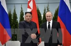 Thượng đỉnh Nga-Triều: Hai nhà lãnh đạo đánh giá cao kết quả hội đàm