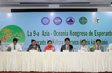 Khai mạc Đại hội Quốc tế ngữ châu Á-châu Đại Dương lần thứ 9