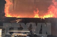 Lào Cai: Cháy xưởng sửa chữa ôtô, thiệt hại gần 4 tỷ đồng