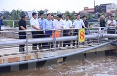 Bộ trưởng Trần Hồng Hà thăm Nhà máy xử lý nước thải Sóng Thần 2
