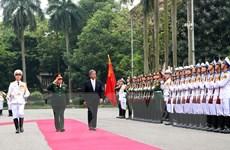 Việt Nam và Nhật Bản đưa ra các biện pháp thúc đẩy hợp tác quốc phòng