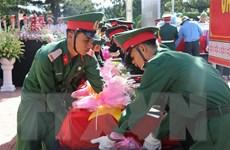 An táng 26 hài cốt liệt sỹ tại Nghĩa trang Liệt sỹ Quốc gia Đường 9