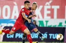 Câu lạc bộ Sài Gòn thắng Câu lạc bộ Hải Phòng với tỷ số 1-0 
