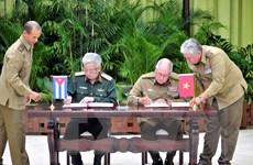 Thượng tướng Nguyễn Chí Vịnh thăm chính thức Cuba