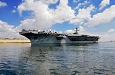 Iran: Tàu sân bay Mỹ tại vùng Vịnh có thể thành 'mục tiêu' và 'cơ hội'