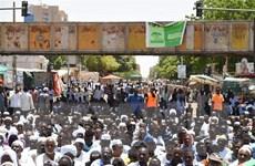 Sudan: Chính quyền quân sự sẽ nối lại đàm phán với lực lượng biểu tình