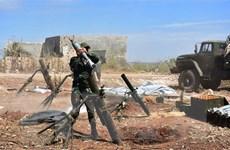 SANA: Hệ thống phòng không Syria đánh chặn nhiều vật thể từ Israel