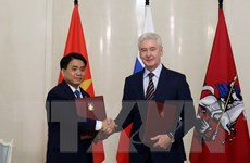 Hà Nội và Moskva tăng cường hợp tác trên nhiều lĩnh vực