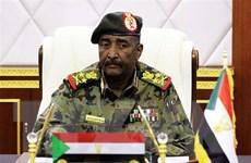 Chủ tịch Hội đồng quân sự Sudan tới Ai Cập, lần đầu công du nước ngoài