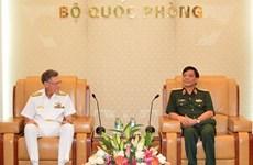 Tăng cường quan hệ quốc phòng Việt Nam-Australia