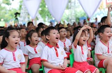 'Ngày Vi chất dinh dưỡng 2019': Mục tiêu nâng cao tầm vóc, trí tuệ