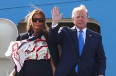 Tổng thống Mỹ Donald Trump bắt đầu chuyến thăm nhà nước tới Anh