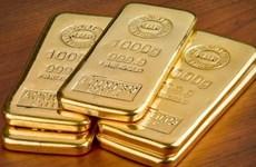 Giá vàng thế giới leo lên mức đỉnh của hơn ba tháng