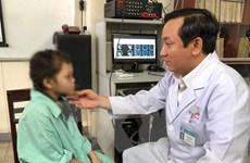 Phẫu thuật khối u lớn trong hốc mũi bé gái dân tộc thiểu số