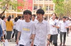 Tuyển sinh lớp 10 ở Nghệ An: Thí sinh 'thở phào' sau ngày thi đầu tiên