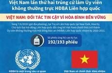 Việt Nam trúng cử Ủy viên không thường trực HĐBA với số phiếu kỷ lục