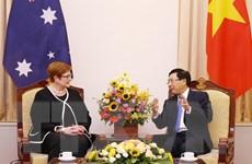 Quan hệ Việt Nam-Australia phát triển tích cực và bền vững