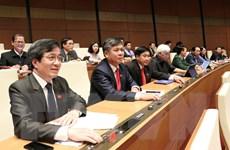 Quốc hội thông qua Nghị quyết về quy hoạch, quản lý đất đai tại đô thị