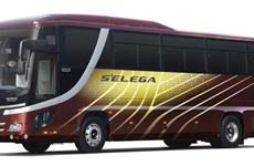 Xe buýt đầu tiên trên thế giới có công nghệ hỗ trợ tự động dừng