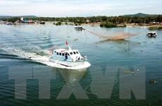 Bàn giao tàu tuần tra cho Ban quản lý Khu bảo tồn biển Lý Sơn