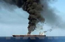 Sự cố tàu trên Vịnh Oman: Nga ủng hộ việc mở cuộc điều tra toàn diện