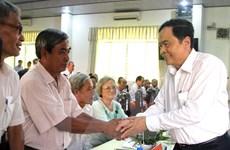 Chủ tịch Mặt trận Tổ quốc đối thoại với đồng bào Phật giáo Hòa Hảo