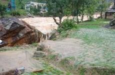 Lào Cai: Khẩn trương khắc phục hậu quả mưa lũ tại xã Bản Hồ