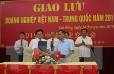 Cao Bằng thúc đẩy hợp tác phát triển kinh tế khu vực biên giới