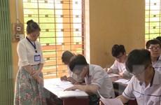 Hơn 99% thí sinh đến làm thủ tục dự thi THPT Quốc gia chiều 24/6