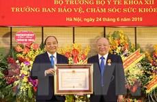 Trao Huân chương Độc lập hạng Nhất cho ông Nguyễn Quốc Triệu