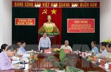Triển khai quyết định của Ban Bí thư với Ban Thường vụ Tỉnh ủy Kon Tum