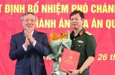 Phê chuẩn Thiếu tướng Dương Văn Thăng làm Thẩm phán TAND tối cao