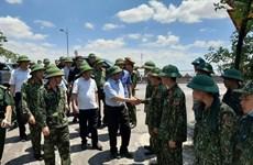 Trưởng ban Tổ chức TW kiểm tra công tác chữa cháy rừng ở Hà Tĩnh