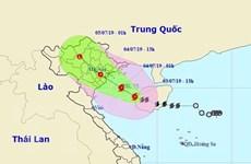 Bão số 2 giật cấp 10 sẽ đi vào đất liền các tỉnh Quảng Ninh-Ninh Bình