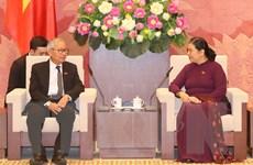 Đoàn Đảng Liên đoàn Quốc gia vì Dân chủ Myanmar thăm Việt Nam