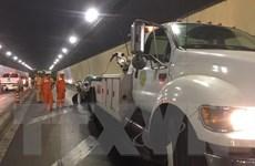 Đâm xe liên hoàn tại hầm Hải Vân khiến giao thông đình trệ