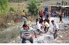 Lại thêm một vụ tai nạn xe buýt thảm khốc tại Ấn Độ