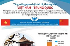 Tăng cường quan hệ kinh tế, thương mại Việt Nam-Trung Quốc