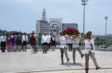 Hình ảnh hoạt động của Phó Chủ tịch nước Đặng Thị Ngọc Thịnh tại Cuba