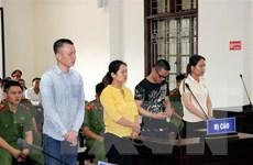Hòa Bình: Gần 80 năm tù cho bốn đối tượng buôn ma túy