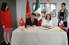 Việt Nam và Mexico thúc đẩy hợp tác kinh tế, thương mại và đầu tư