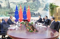 Trung Quốc không phải là đối thủ cạnh tranh của EU