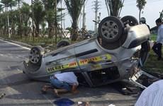 Hà Nội: Truy tìm xe ôtô gây tai nạn liên hoàn rồi bỏ trốn