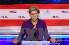 Bầu cử Mỹ: Ứng viên Elizabeth Warren cảnh báo nguy cơ sụp đổ kinh tế
